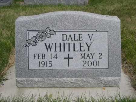 WHITLEY, DALE V. - Dawes County, Nebraska | DALE V. WHITLEY - Nebraska Gravestone Photos