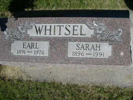 WHITSEL, EARL - Dawes County, Nebraska | EARL WHITSEL - Nebraska Gravestone Photos