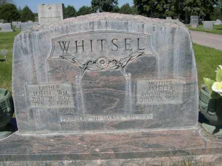 WHITSEL, JOHN WM. - Dawes County, Nebraska | JOHN WM. WHITSEL - Nebraska Gravestone Photos