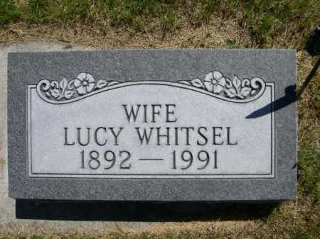WHITSEL, LUCY - Dawes County, Nebraska   LUCY WHITSEL - Nebraska Gravestone Photos