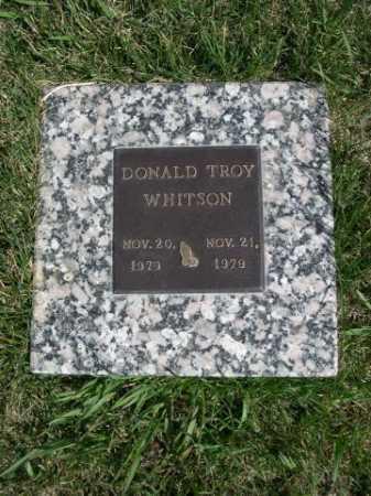 WHITSEN, DONALD TROY - Dawes County, Nebraska | DONALD TROY WHITSEN - Nebraska Gravestone Photos