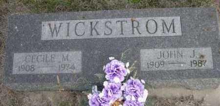 WICKSTROM, CECILE M. - Dawes County, Nebraska | CECILE M. WICKSTROM - Nebraska Gravestone Photos