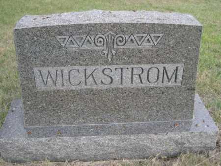 WICKSTROM, FAMILY - Dawes County, Nebraska | FAMILY WICKSTROM - Nebraska Gravestone Photos