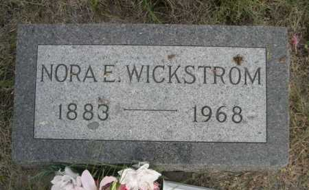 WICKSTROM, NORA E. - Dawes County, Nebraska | NORA E. WICKSTROM - Nebraska Gravestone Photos