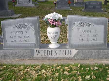 WIEDENFELD, LOUISE T. - Dawes County, Nebraska | LOUISE T. WIEDENFELD - Nebraska Gravestone Photos