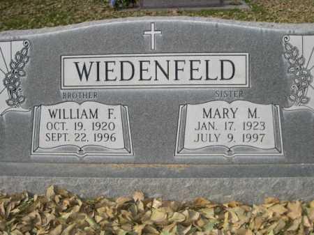 WIEDENFELD, WILLIAM F. - Dawes County, Nebraska | WILLIAM F. WIEDENFELD - Nebraska Gravestone Photos