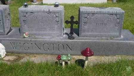 WIGINGTON, RICHARD LEO - Dawes County, Nebraska | RICHARD LEO WIGINGTON - Nebraska Gravestone Photos