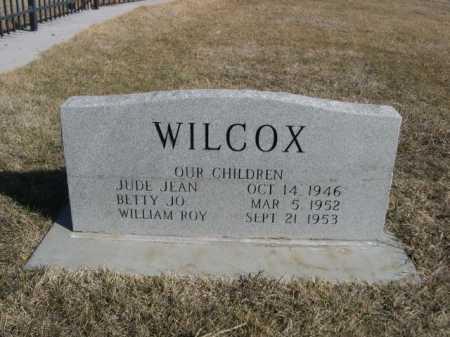 WILCOX, ROBERTA I. - Dawes County, Nebraska | ROBERTA I. WILCOX - Nebraska Gravestone Photos