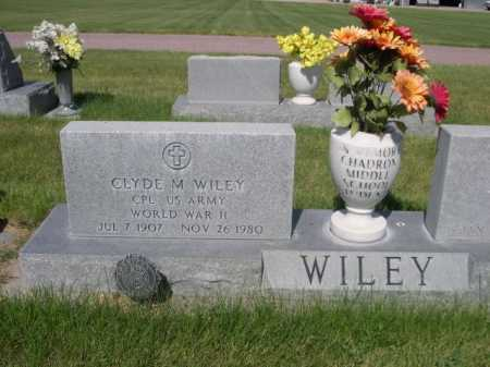 WILEY, CLYDE M. - Dawes County, Nebraska | CLYDE M. WILEY - Nebraska Gravestone Photos