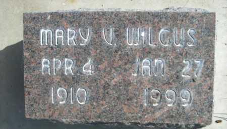 WILGUS, MARY V. - Dawes County, Nebraska | MARY V. WILGUS - Nebraska Gravestone Photos