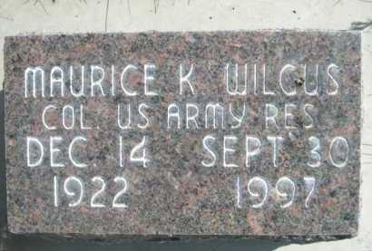 WILGUS, MAURICE K - Dawes County, Nebraska   MAURICE K WILGUS - Nebraska Gravestone Photos