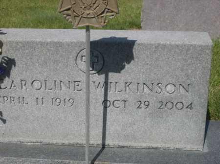 WILKINSON, CAROLINE - Dawes County, Nebraska | CAROLINE WILKINSON - Nebraska Gravestone Photos