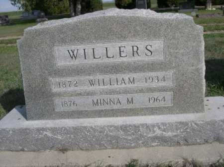 WILLERS, MINNA M. - Dawes County, Nebraska | MINNA M. WILLERS - Nebraska Gravestone Photos