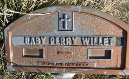 WILLET, BABY PERRY - Dawes County, Nebraska   BABY PERRY WILLET - Nebraska Gravestone Photos