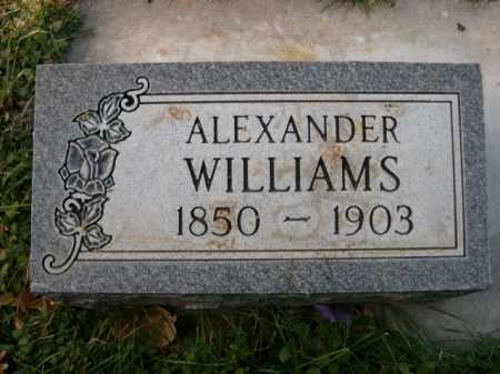 WILLIAMS, ALEXANDER - Dawes County, Nebraska | ALEXANDER WILLIAMS - Nebraska Gravestone Photos