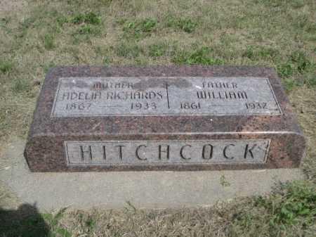 RICHARDS HITCHCOCK, ADELIA - Dawes County, Nebraska | ADELIA RICHARDS HITCHCOCK - Nebraska Gravestone Photos