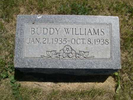 WILLIAMS, BUDDY - Dawes County, Nebraska | BUDDY WILLIAMS - Nebraska Gravestone Photos
