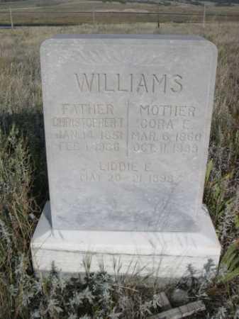 WILLIAMS, CORA E. - Dawes County, Nebraska | CORA E. WILLIAMS - Nebraska Gravestone Photos