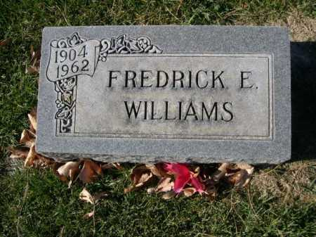 WILLIAMS, FREDRICK E. - Dawes County, Nebraska | FREDRICK E. WILLIAMS - Nebraska Gravestone Photos
