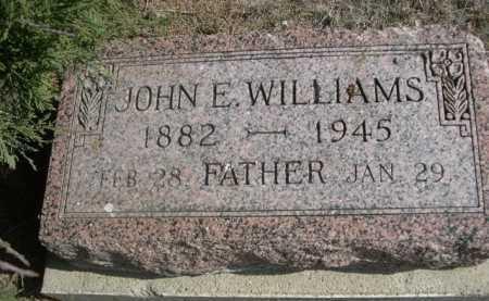 WILLIAMS, JOHN E. - Dawes County, Nebraska | JOHN E. WILLIAMS - Nebraska Gravestone Photos