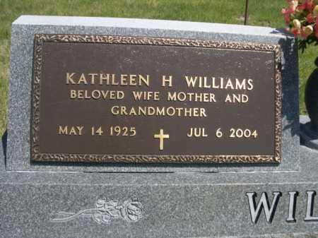 WILLIAMS, KATHLEEN H. - Dawes County, Nebraska | KATHLEEN H. WILLIAMS - Nebraska Gravestone Photos
