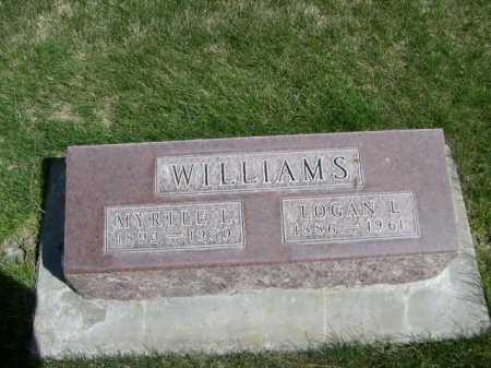 WILLIAMS, LOGAN L. - Dawes County, Nebraska | LOGAN L. WILLIAMS - Nebraska Gravestone Photos