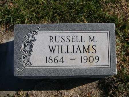 WILLIAMS, RUSSELL M. - Dawes County, Nebraska | RUSSELL M. WILLIAMS - Nebraska Gravestone Photos