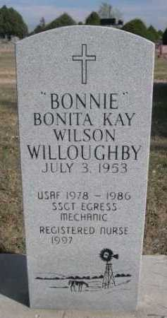 "WILSON WILLOUGHBY, BONITA KAY ""BONNIE"" - Dawes County, Nebraska 