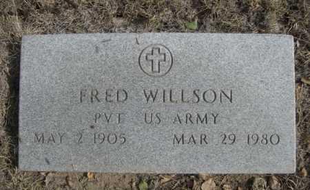 WILLSON, FRED. - Dawes County, Nebraska   FRED. WILLSON - Nebraska Gravestone Photos