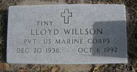 "WILLSON, LLOYD ""TINY"" - Dawes County, Nebraska 