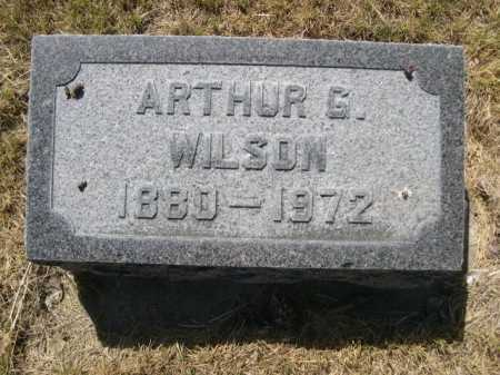 WILSON, ARTHUR G. - Dawes County, Nebraska   ARTHUR G. WILSON - Nebraska Gravestone Photos