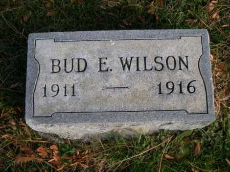 WILSON, BUD E. - Dawes County, Nebraska | BUD E. WILSON - Nebraska Gravestone Photos