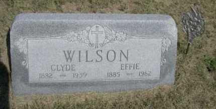 WILSON, EFFIE - Dawes County, Nebraska | EFFIE WILSON - Nebraska Gravestone Photos