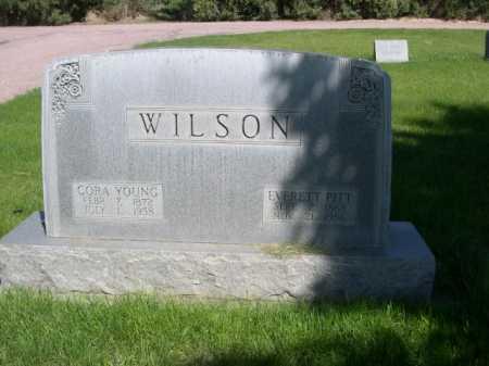 WILSON, CORA - Dawes County, Nebraska   CORA WILSON - Nebraska Gravestone Photos