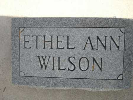 WILSON, ETHEL ANN - Dawes County, Nebraska | ETHEL ANN WILSON - Nebraska Gravestone Photos