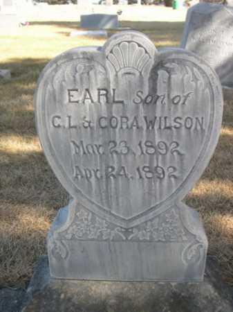 WILSON, EARL - Dawes County, Nebraska   EARL WILSON - Nebraska Gravestone Photos