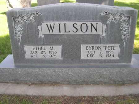 WILSON, ETHEL M. - Dawes County, Nebraska | ETHEL M. WILSON - Nebraska Gravestone Photos