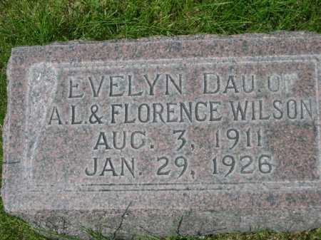 WILSON, EVELYN - Dawes County, Nebraska | EVELYN WILSON - Nebraska Gravestone Photos