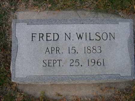 WILSON, FRED N. - Dawes County, Nebraska   FRED N. WILSON - Nebraska Gravestone Photos