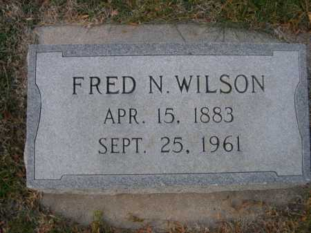 WILSON, FRED N. - Dawes County, Nebraska | FRED N. WILSON - Nebraska Gravestone Photos