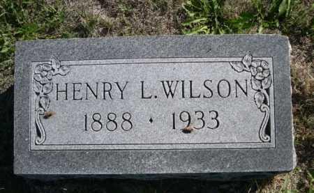 WILSON, HENRY L. - Dawes County, Nebraska | HENRY L. WILSON - Nebraska Gravestone Photos