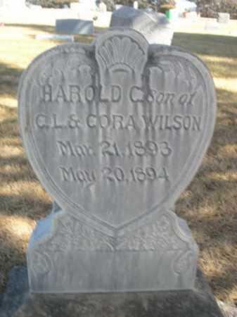 WILSON, HAROLD C. - Dawes County, Nebraska | HAROLD C. WILSON - Nebraska Gravestone Photos