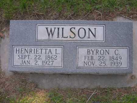 WILSON, BYRON C. - Dawes County, Nebraska | BYRON C. WILSON - Nebraska Gravestone Photos