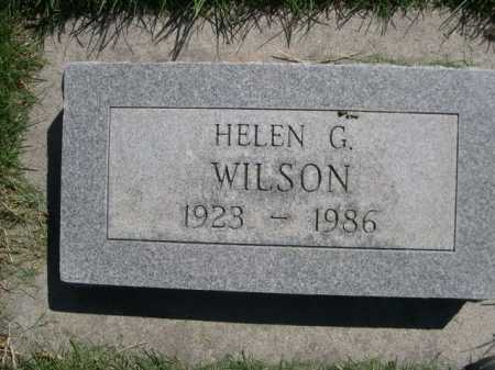 WILSON, HELEN G. - Dawes County, Nebraska | HELEN G. WILSON - Nebraska Gravestone Photos