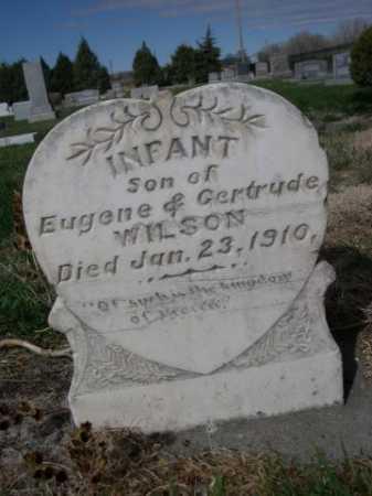 WILSON, INFANT SON OF EUGENE & GERTRUDE - Dawes County, Nebraska | INFANT SON OF EUGENE & GERTRUDE WILSON - Nebraska Gravestone Photos