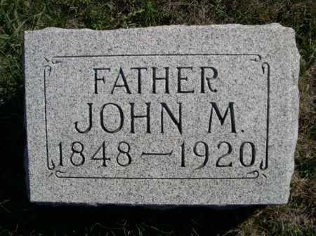 WILSON, JOHN M. - Dawes County, Nebraska | JOHN M. WILSON - Nebraska Gravestone Photos