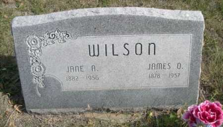 WILSON, JAMES D. - Dawes County, Nebraska | JAMES D. WILSON - Nebraska Gravestone Photos