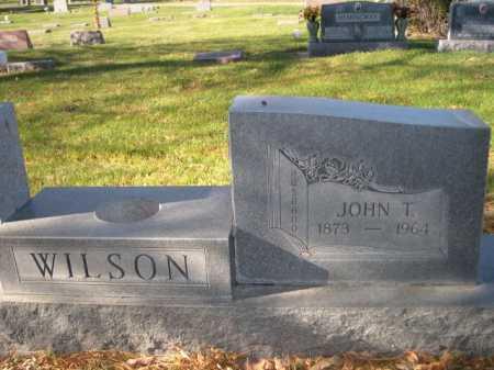 WILSON, JOHN T - Dawes County, Nebraska | JOHN T WILSON - Nebraska Gravestone Photos