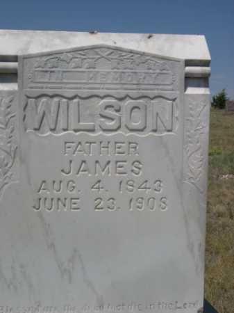 WILSON, JAMES - Dawes County, Nebraska | JAMES WILSON - Nebraska Gravestone Photos