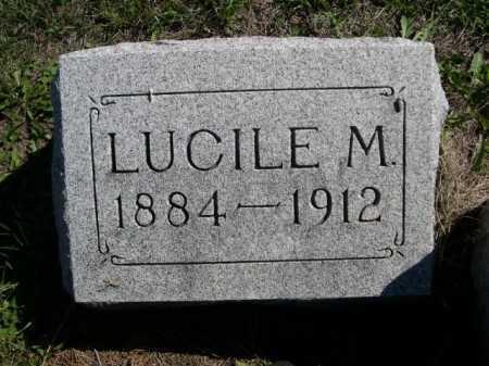 WILSON, LUCILE M. - Dawes County, Nebraska | LUCILE M. WILSON - Nebraska Gravestone Photos